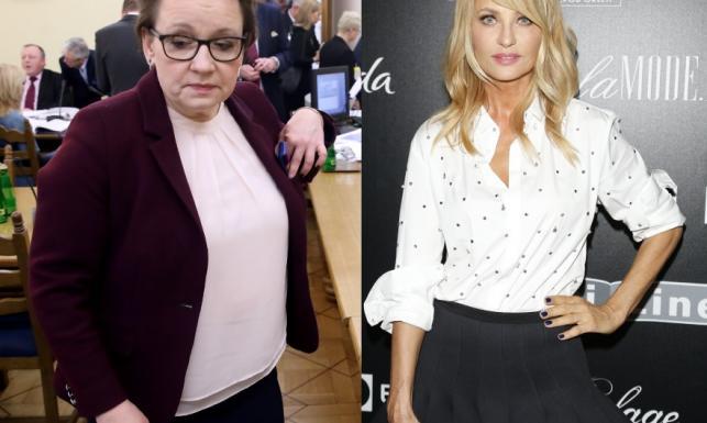 Dacie wiarę, że minister Zalewska i Aneta Kręglicka są w tym samym wieku?! FOTO