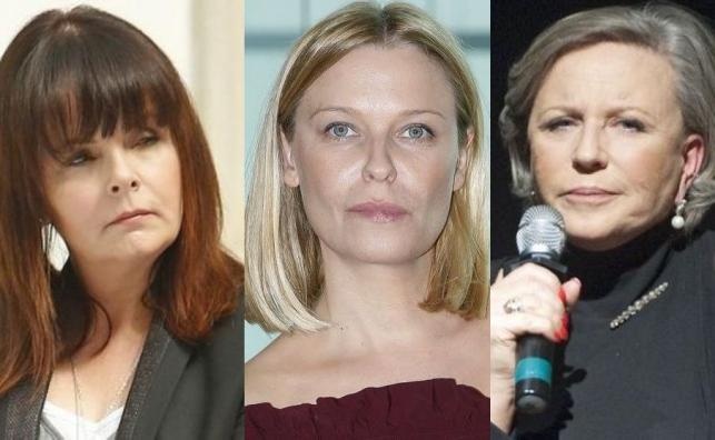 Karolina Korwin Piotrowska, Paulina Młynarska, Krystyna Janda