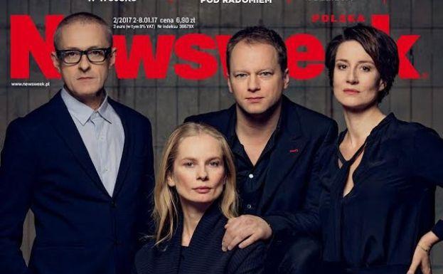 Jacek Poniedziałek, Magdalena Cielecka, Maciej Stuhr i Maja Ostaszewska na okładce \