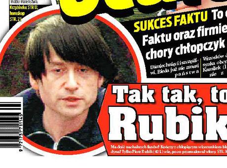 Piotr Rubik już nie jest blondynem