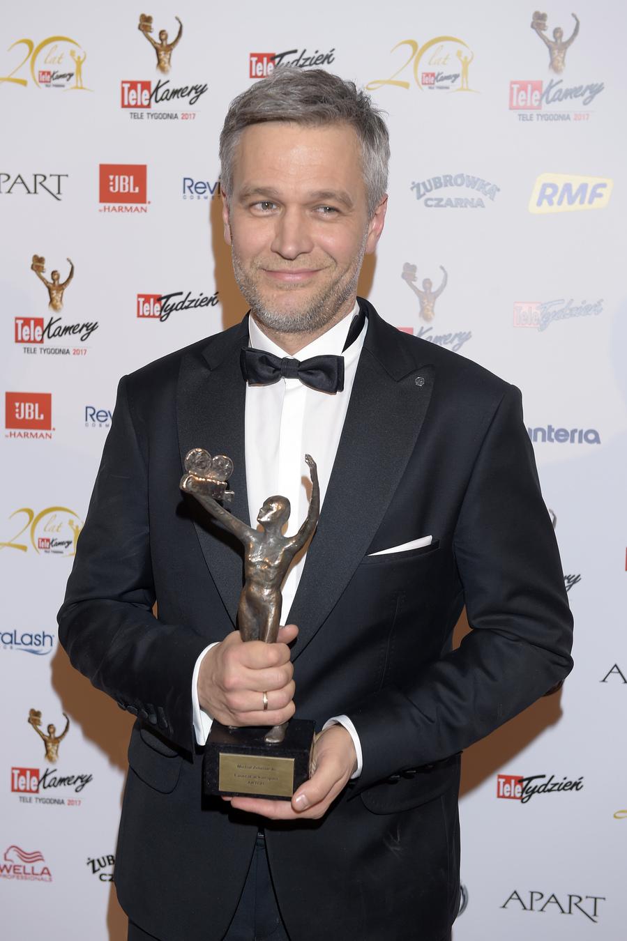 Telekamery 2017: Michał Żebrowski