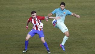 Luis Suarez i Saul Ńiguez