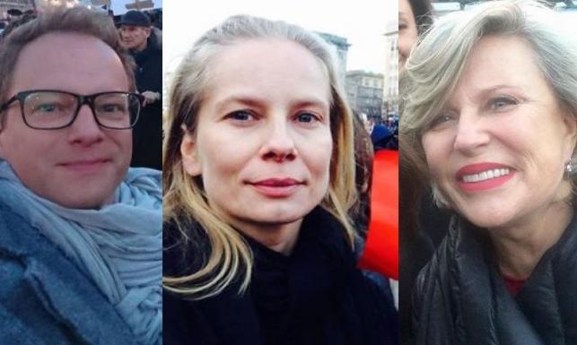 Stuhr, Cielecka i siostry Młynarskie. Polskie gwiazdy na Strajku Kobiet