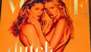 Lara Stone i Doutzen Kroes nago na okładce holenderskiego Vogue'a