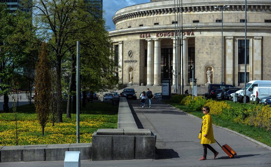 Warszawa, dawne okolice ulicy Chmielnej, dziś Plac Defilad