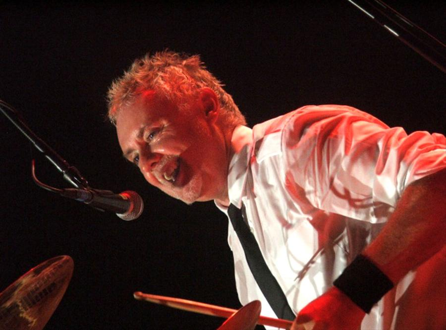 Perkusyjne przymierze Queen i Foo Fighters. Na zdj. Roger Taylor