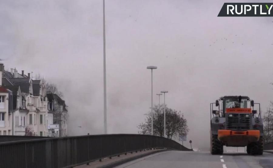 60-metrowy budynek legł w gruzach w Bonn